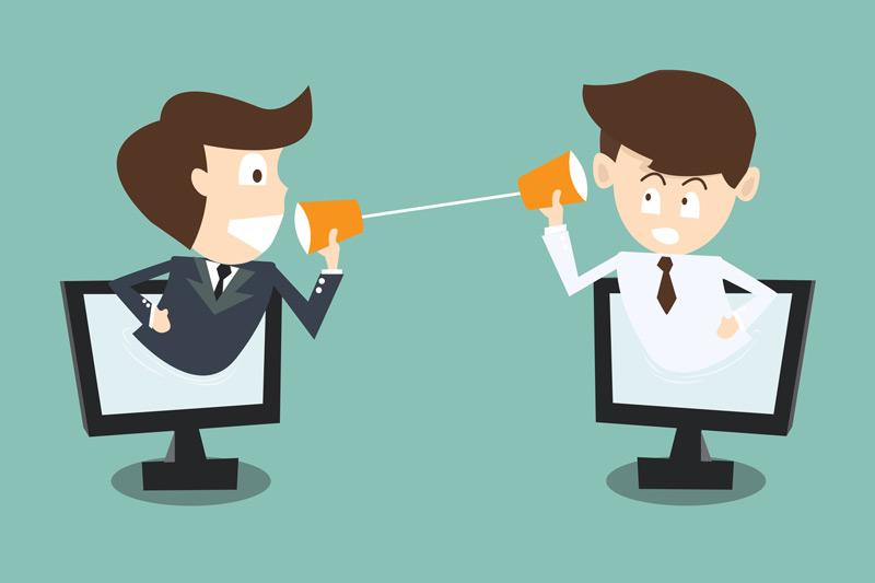 comunicarea cu clientii